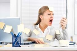 Стресс - один из причин запора