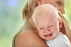 Плач как признак запора