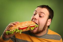 Жирная еда - причина изжоги