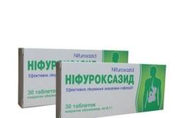 Нифуроксазид при диарее у беременных