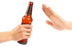 Отказ от алкоголя для профилактики диареи