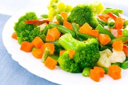 Паровые овощи для лучшей дефекации
