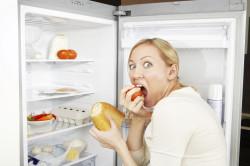 Неправильное питание - причина вздутия живота