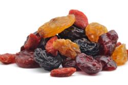 Сушёные фрукты для очищения кишечника